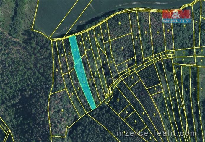 Prodej, les, 3269 m², Městečko u Křivoklátu