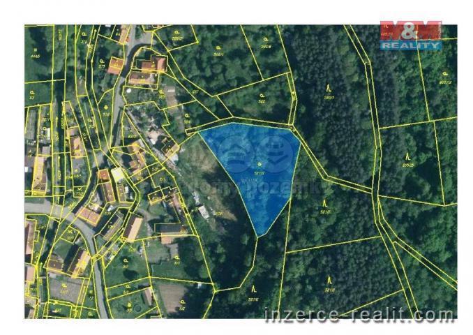 Prodej, ostatní pozemek, 2524 m², Ročov, Úlovice