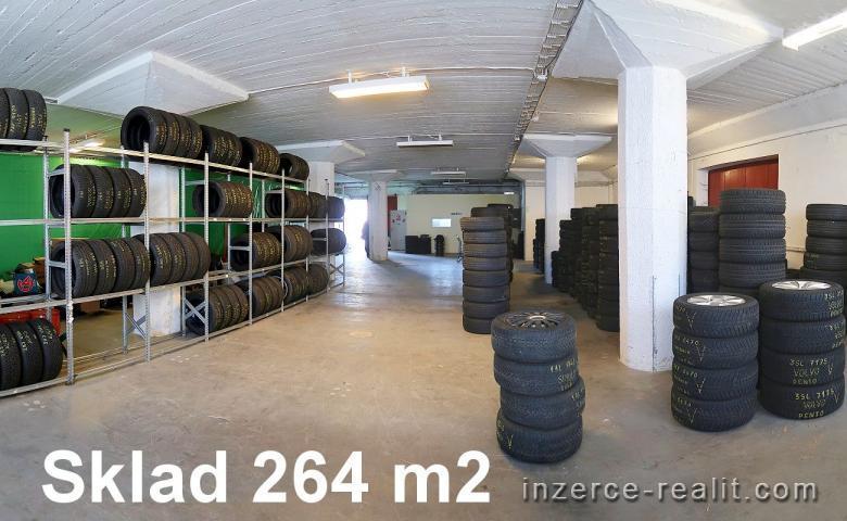 SKLAD - PŘÍZEMÍ  -  264 m2,   Praha 7 - Holešovice