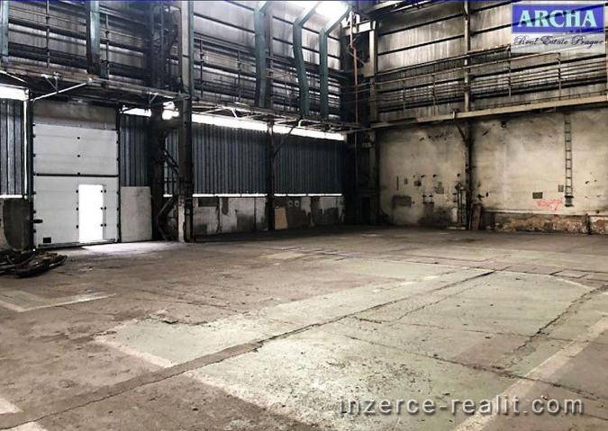 Pronájem skladového prostoru 427 m2, Praha 10 - Hostivař