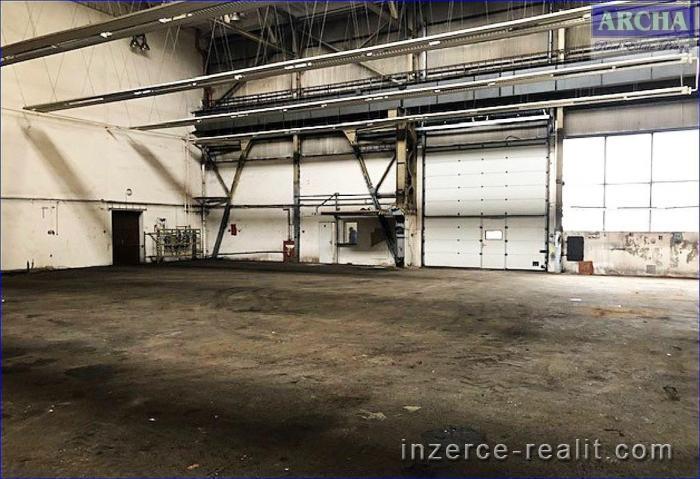 Pronájem výrobní haly 680 m2, Praha 10 - Hostivař