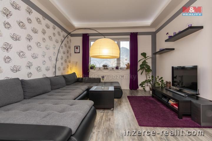 Prodej, byt 3+kk, 72 m2, OV, Velké Březno, Valtířov