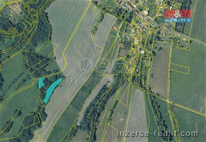 Prodej, les, 3736 m², Stružnice