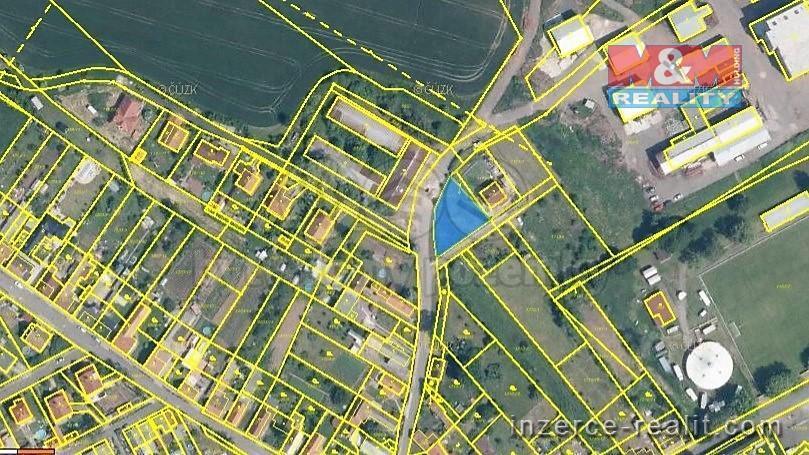 Prodej, pozemek k bydlení, 605 m2, Kryry