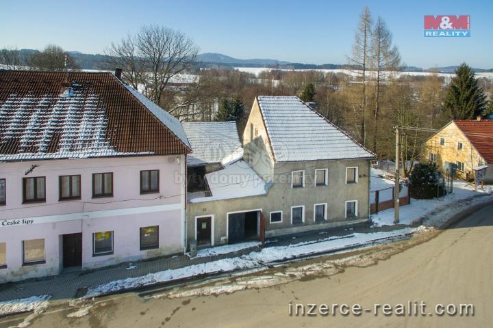 Prodej, rodinný dům, 2626 m², Horní Stropnice u Nových Hradů