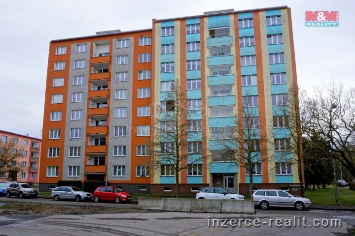 Pronájem, byt 1+1, 36 m², Cheb, ul. Mírová