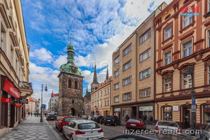 Pronájem, byt 1+kk, 33 m², Praha, ul. Petrská