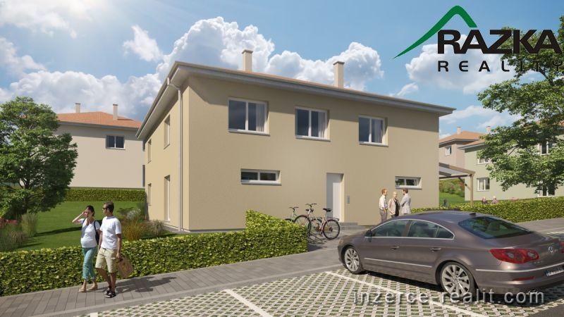 Mezonetový byt 4+kk (90 m2) se zahrádkou a parkováním Tachov