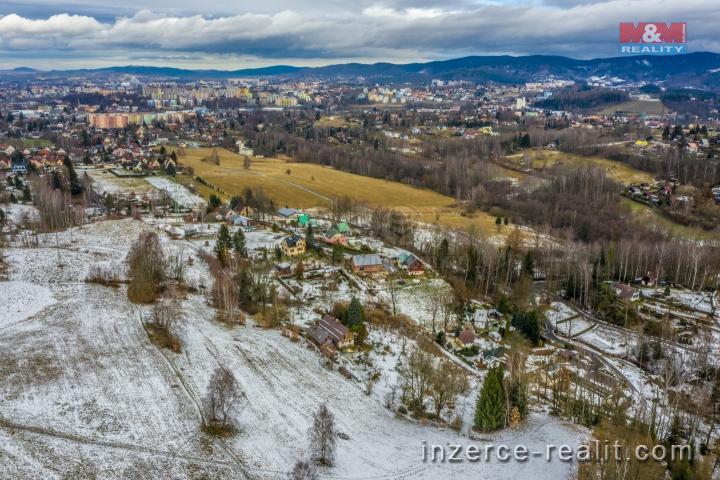 Prodej, pozemek k bydlení, 1945 m2, Liberec, Vesec