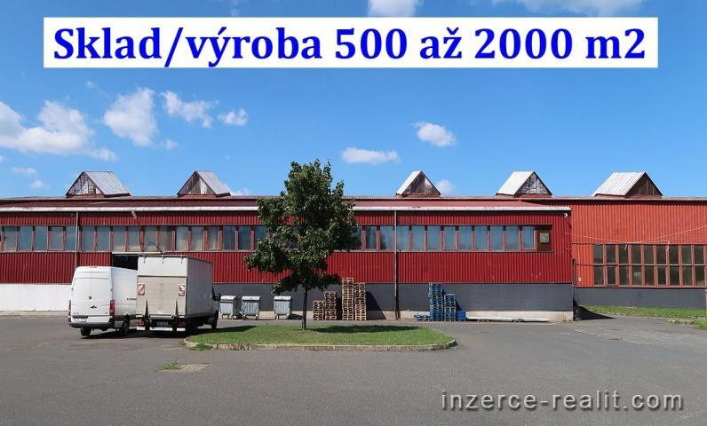 Nájem haly 500 až 2.000 m2, přízemí, Kostelec nad Labem