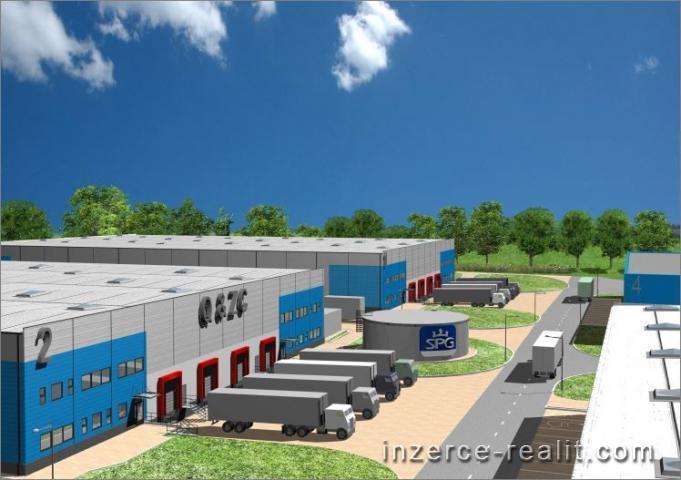 Prodej stavebního pozemku 6 000 až 25 000 m2, na sklad, výroba,  LOUNY