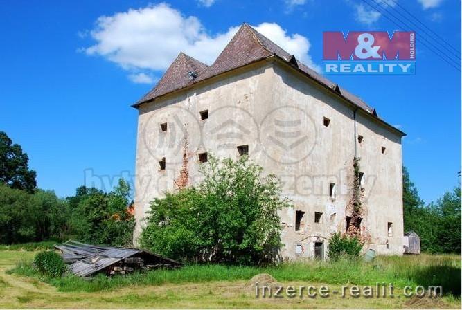 Prodej, středověká tvrz, 680 m², Val - Hamr