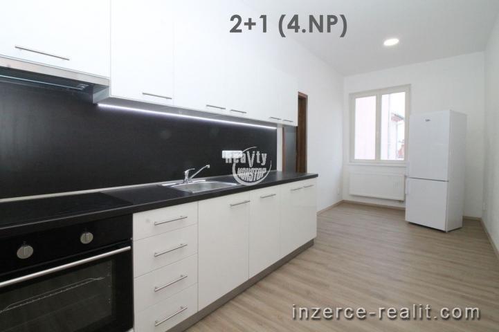 Exkluzivní nabídka pronájmů bytů 2+1 přímo v centru města Jihlavy