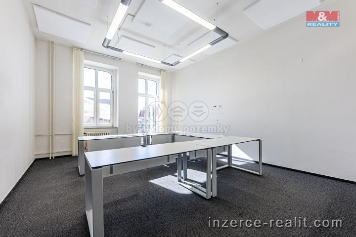 Pronájem, patro - nájemní dům, 170 m², Plzeň, ul. Hálkova