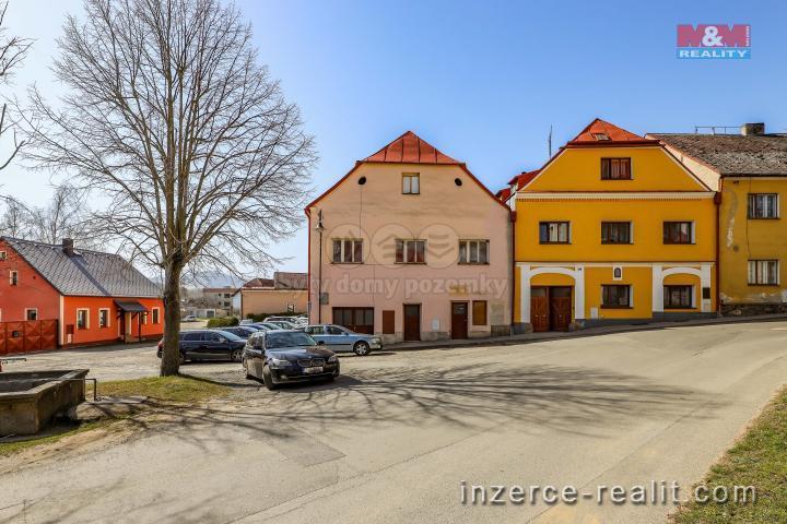 Prodej, nájemní dům, 716 m², Poběžovice, ul. náměstí Míru