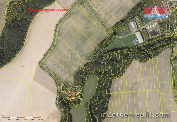 Prodej, pole, 7780 m², Všechovice