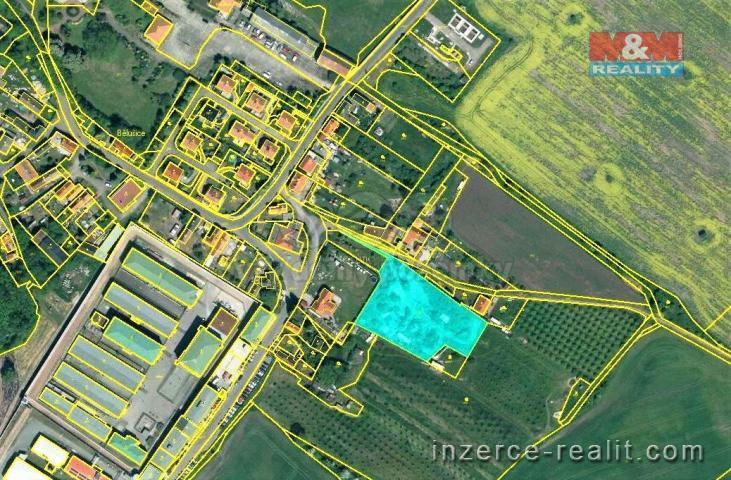 Prodej, pozemek k bydlení, 4188 m², Bělušice