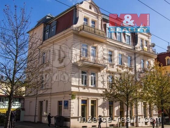 Pronájem, byt 1+kk, 27 m², Mariánské Lázně, ul. Hlavní třída