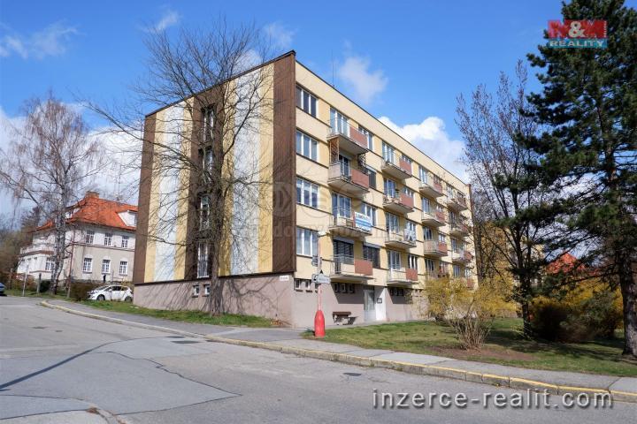 Pronájem, byt 1+1, Český Krumlov, ul. Špičák