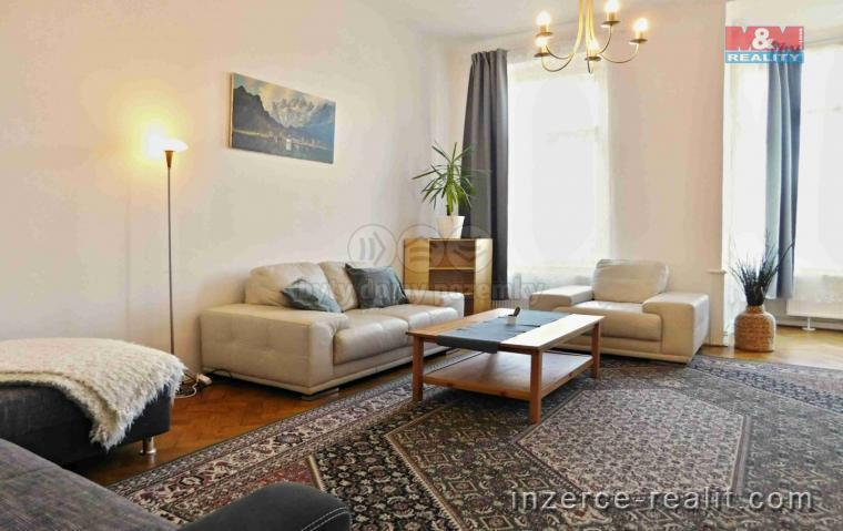Pronájem, byt 3+1, Praha 2 - Vinohrady, ul. Polská