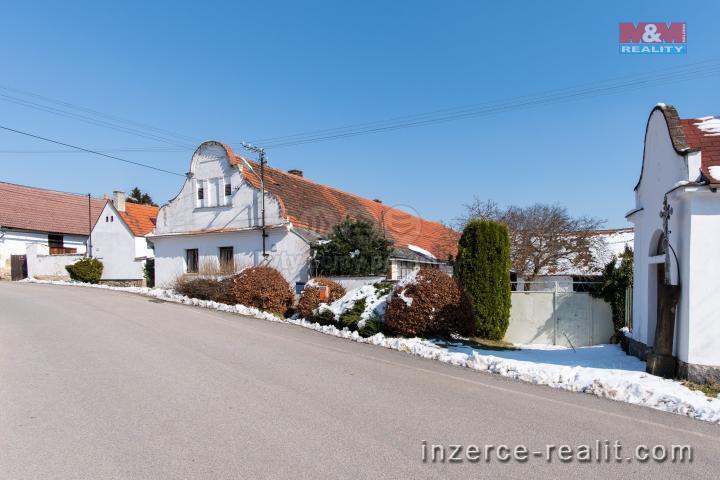 Prodej, chalupa, 2507 m2, Hoslovice - Škrobočov