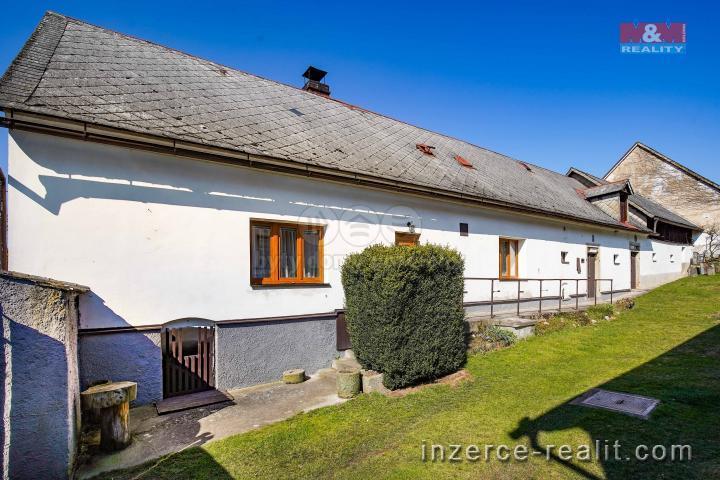 Prodej, chalupa, 1631 m², Nečtiny- Češtětín
