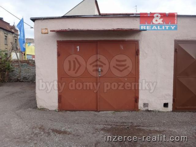 Pronájem, garáž, 23 m², Kladno, ul. Rybná