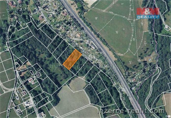 Prodej, louka, 3161 m², Jeřmanice
