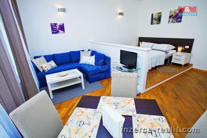 Pronájem, byt 1+1, 37 m², Praha, ul. Staropramenná