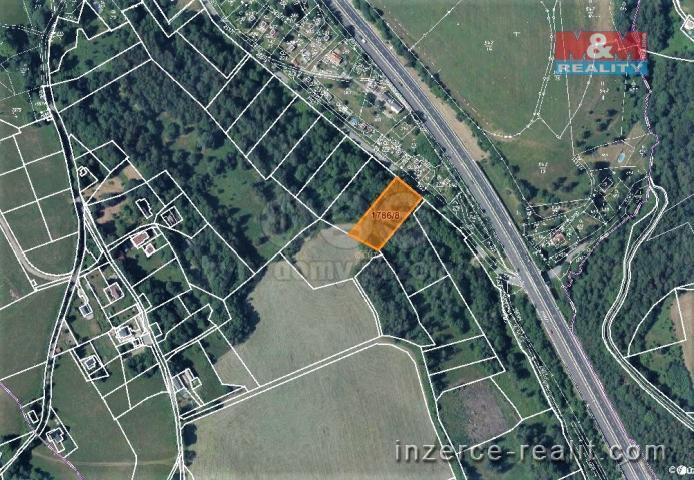 Prodej, louka, 2797 m², Jeřmanice