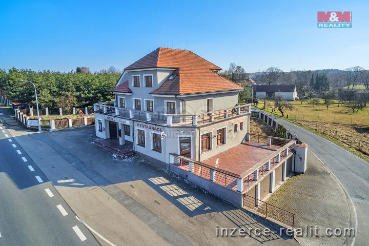 Prodej, hotel, penzion, 4159 m², Borek