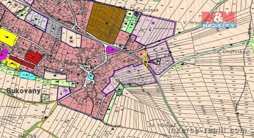Prodej, stavební pozemek, 3835 m², Bukovany