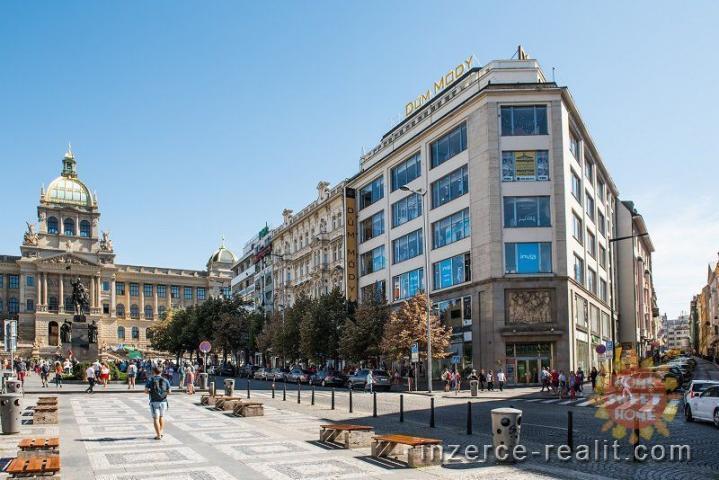 Obchodní prostory k pronájmu Domě Módy (500m2), ulice Václavské nám.