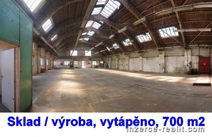 Hala 700 m2, přízemí, Hořovice ( Exit D5 - Žebrák)