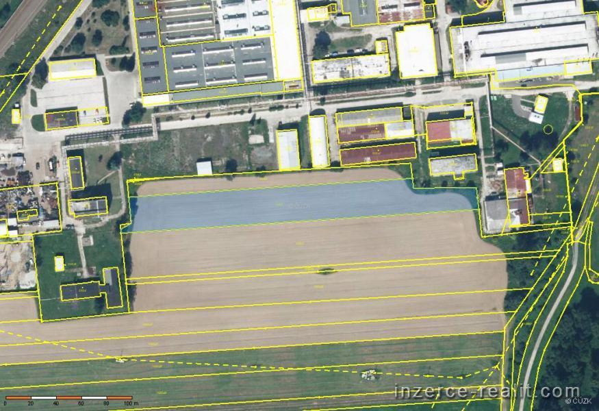 Stavební parcela 7.370 + 16m2, k.ú. Postřelmov