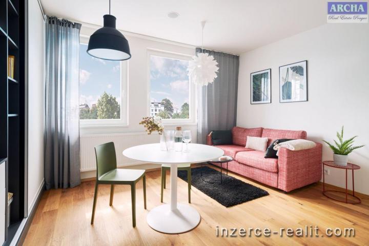 Prodej 1+kk, plocha  26,3 m2,  2.NP,   Praha 2 Vinohrady