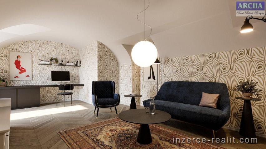 Prodej 4+kk, 87,5 m2, 1.NP, terasa,  stávající stav,  Praha 5 Hlubočepy