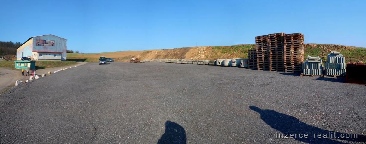 Pozemek, asfalt, 300 až 1000 m2, BEROUN - Králův Dvůr ( Exit D5 )