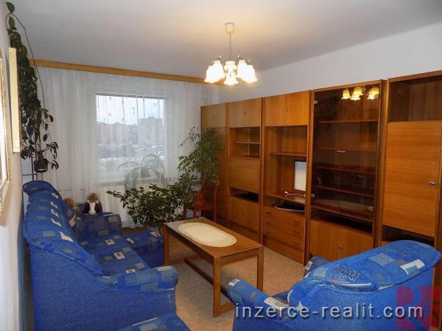 Pronájem zařízeného bytu 2+1 s lodžií, 54 m2, v Příbrami VII, ul. Jana Drdy